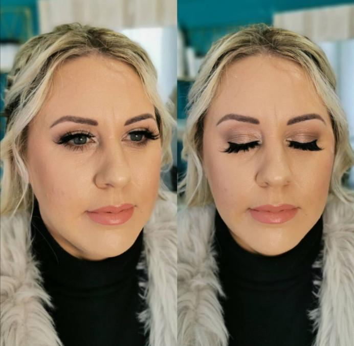 - Make Me Bridal Artist: Beautystyle. Photography by: My own image. #naturalmakeup #bridalmakeup #perfectmakeup #bridesmaidhairandmakeup #weddinghairandmakeup #glambride