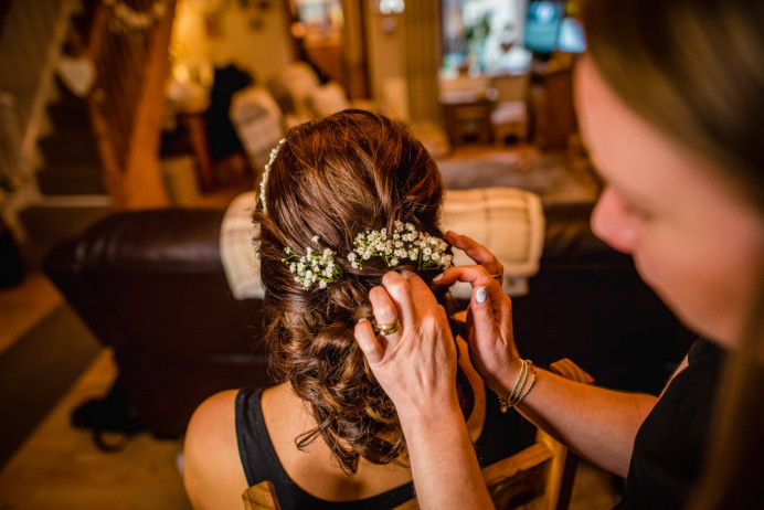 - Make Me Bridal Artist: Beautystyle. Photography by: Unknown. #glamorous #bridalhair #gyposphila #romantichairup #weddinghairandmakeup #bighair #weddinghair #weddinghairup #curlyupdo