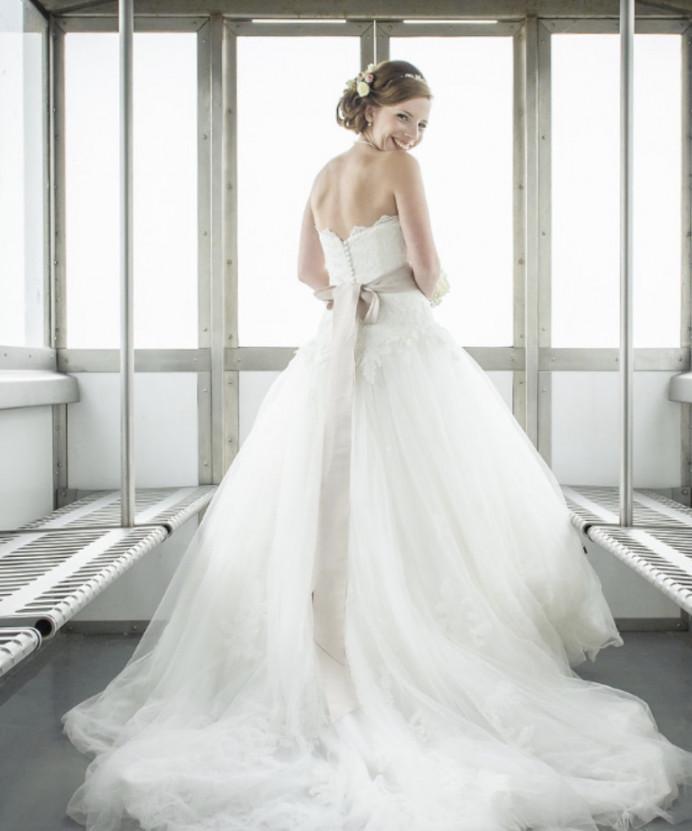 Bournemouth Beach Wedding - Make Me Bridal Artist: Timeless Beauty by Louise. #boho #naturalmakeup #elegant #fresh #classic