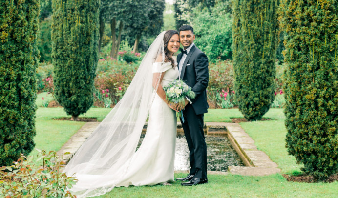 Katherine and Afzal's wedding at Eltham Palace. - Make Me Bridal Artist: Butterfly Hair & Makeup. Photography by: Gyan Gurung. #classic #glamorous