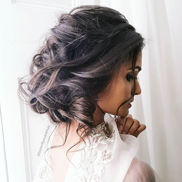 Colab with Couvelie - Make Me Bridal Artist: Butterfly Hair & Makeup. #boho