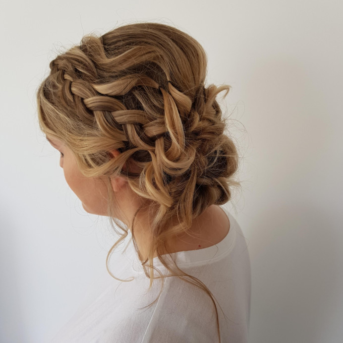 - Make Me Bridal Artist: Butterfly Hair & Makeup. #boho #braid #dutchbraid
