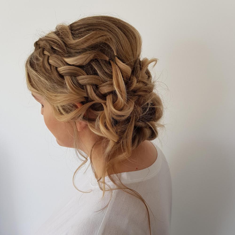 - Make Me Bridal Artist: Butterfly Hair & Makeup. #boho #braid #dutchbraid