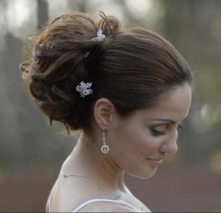 - Make Me Bridal Artist: wedding hair and makeup by Lisa.