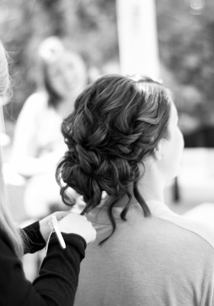 Loose textured updo for a bride. Hair by Hair That Turns Heads. - Make Me Bridal Artist: Hair That Turns Heads. Photography by: Lilly Lytton. #bohemian #boho #curls #weddingmorning #gettingready #bridalhair #updo #soft #rustic #tousled #lowupdo #relaxedupdo #hairup #lowbun #weddinghair #bridalhair #hairup #bun #festivalstyle #lowbun #hairstyling #bohobride #bohowedding #surreyhills #texturedupdo #surrey #surreyhair