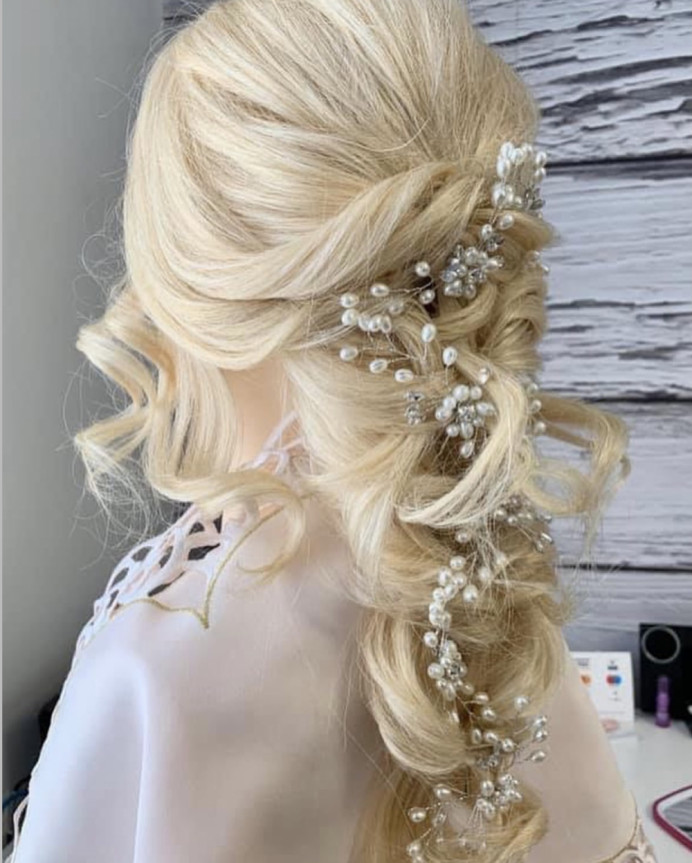 - Make Me Bridal Artist: Max It Up Bridal & Special Occasion Hair. #bridalhair #bridesmaidhair #weddinghair #bohowedding #bohohair #mermaidhair