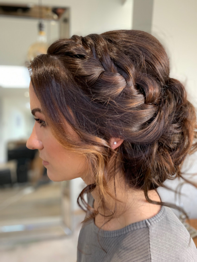 - Make Me Bridal Artist: Hair & Makeup by Faye Kenyon. #braids #bridalhair #bohohair