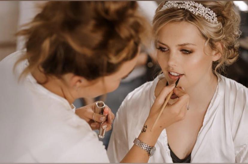 - Make Me Bridal Artist: Hair & Makeup by Faye Kenyon. #bohemian #bridalmakeup #bridemakeup