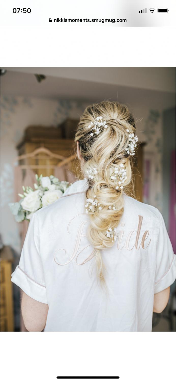 - Make Me Bridal Artist: Hair & Makeup by Faye Kenyon. #bridalhair #bohowedding #bohohair