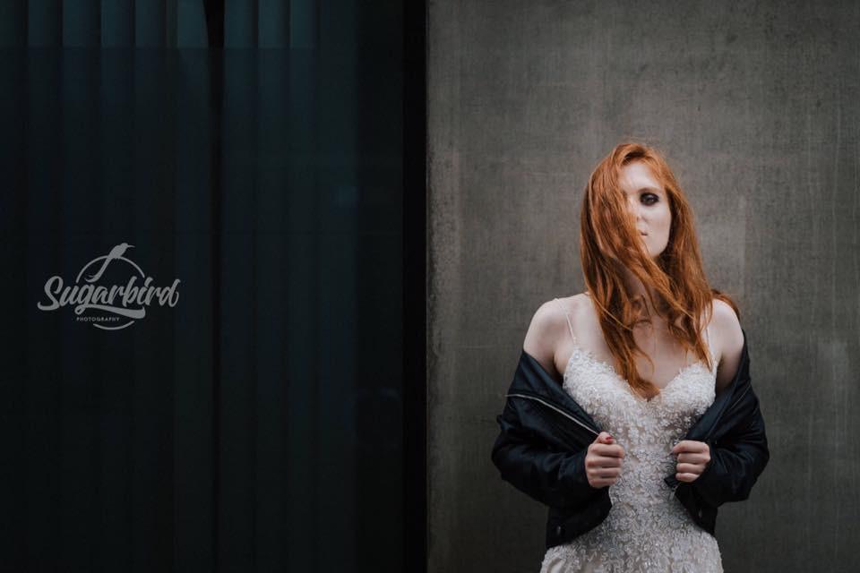- Make Me Bridal Artist: Charlotte Hubbard Vegan Makeup. Photography by: Sugarbird Photograpy. #fresh #redhead #contemporary #redhair #styledshoot #veganbride #citybride #veganmakeup #alternativebride