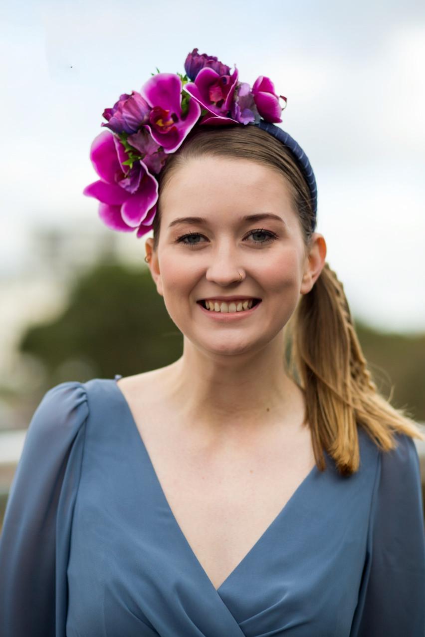 - Make Me Bridal Artist: Emma Olliff . Photography by: Hana Laurie. #flowercrown #naturalmakeup #flowersinherhair #bridesmaidhair #bridesmaidhairandmakeup #bridesmaidmakeup
