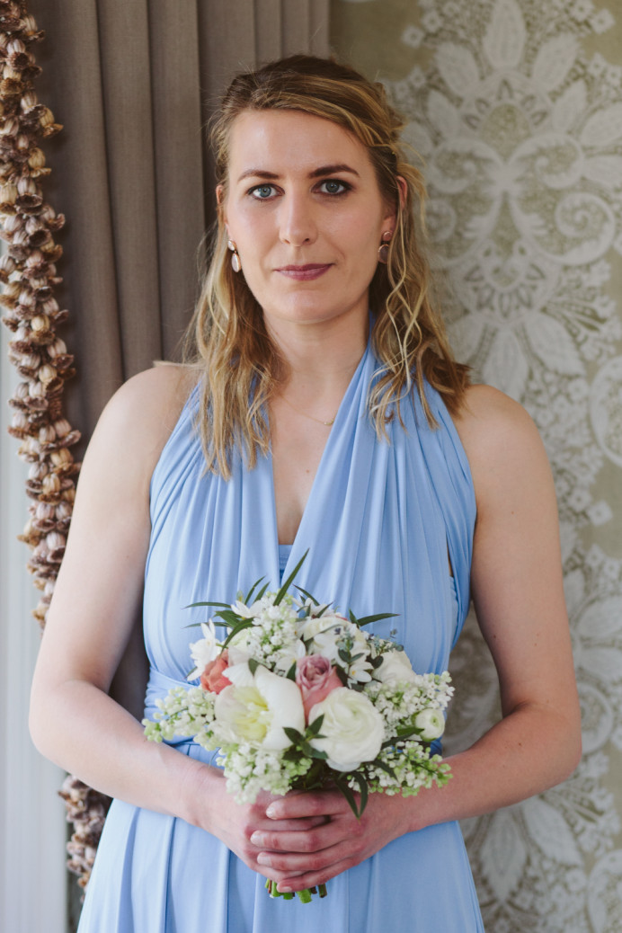 - Make Me Bridal Artist: Emma Olliff . Photography by: Sarah London. #elegant #bridesmaid #bridesmaidhairandmakeup #natural