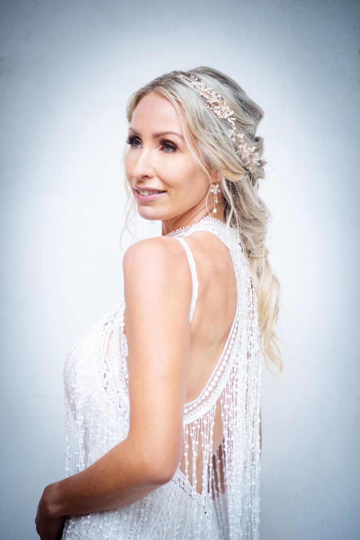 - Make Me Bridal Artist: Carina Allen-Jones Artistry. Photography by: Abi Chadwick. #classic #boho #weddingmorning #bridalmakeup #bridalhair #bridalparty