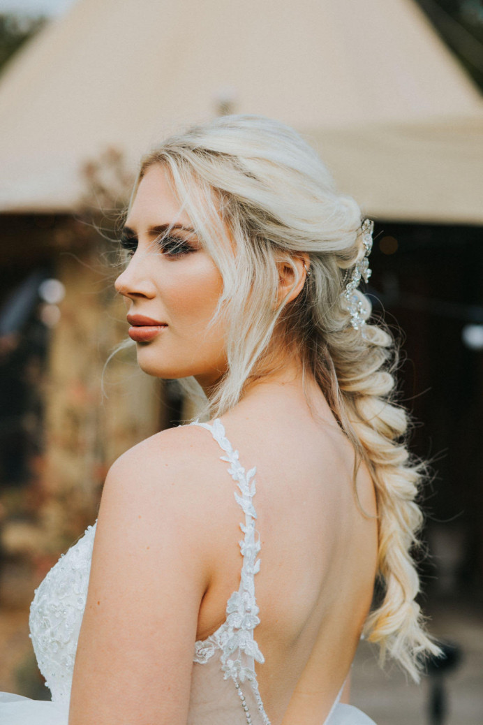 - Make Me Bridal Artist: Gemma Marie Makeup. Photography by: Olivia Whittaker Photography. #boho #bohemian #glamorous #blonde #bridalmakeup #nars #lashes #perfectmakeup #mac #charlottetilbury