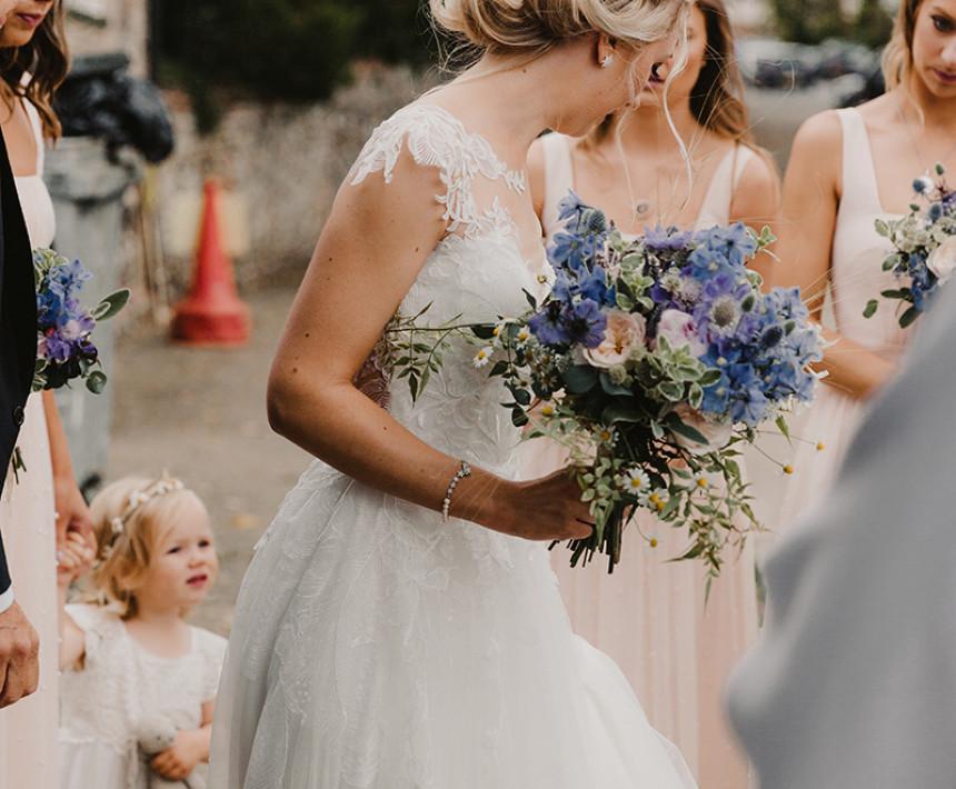 bridal and vintage hair