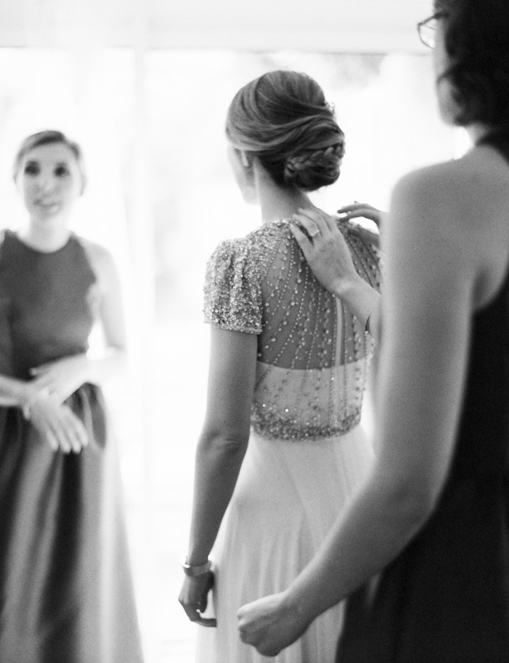- Make Me Bridal Artist: Carolanne Armstrong Hair and Makeup. Photography by: Zosia Zacharia. #updo #hairup #braidedupdo #weddinghair #braids #vintage #glamourous #weddingmorning
