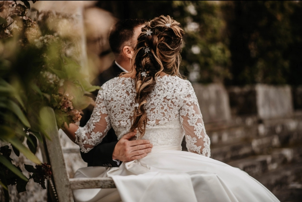 Beautiful Bohemian Princess Bride - Make Me Bridal Artist: Elegant Bridal Hairstyling. Photography by: Willow & Wilde. #bohemian #bridalhair #hairstyling #princess #braidedbridalupdo #softweddinghair #bohemianhair #texturedhair #princesshair