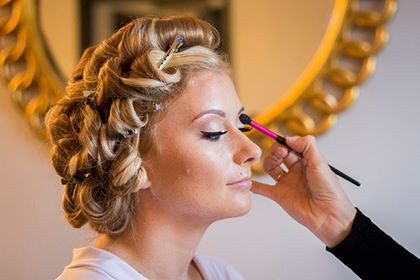 - Make Me Bridal Artist: Makeup By Elisa.