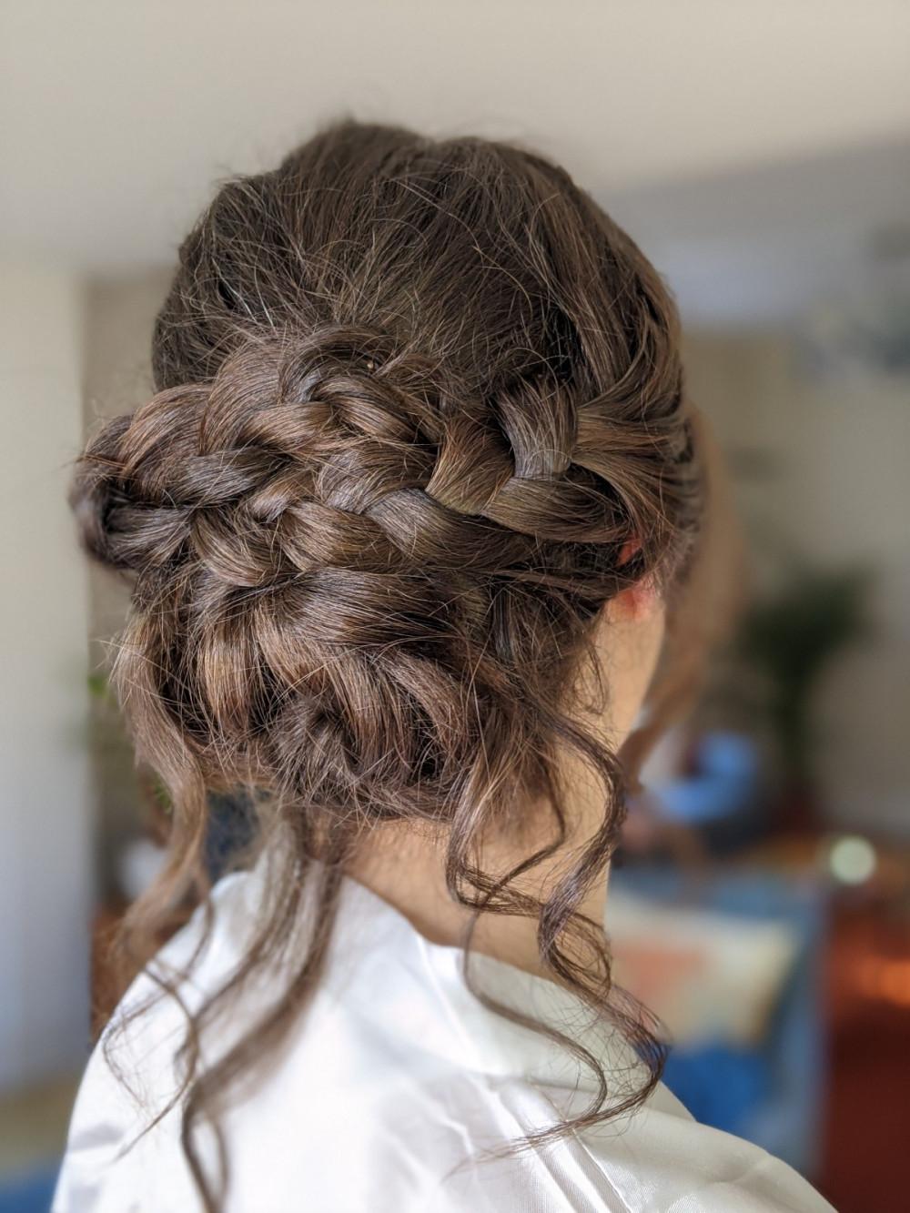 - Make Me Bridal Artist: Petal Blush. #braid #bohohair #braidedupdo #twistedupdo #softupdo #relaxedupdo #bohoupdo #chunkybraid