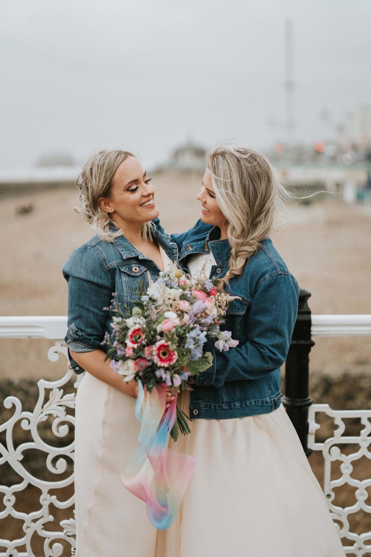 - Make Me Bridal Artist: Petal Blush. Photography by: Stephanie Dreams. #naturalmakeup #flawlessmakeup #samesexwedding