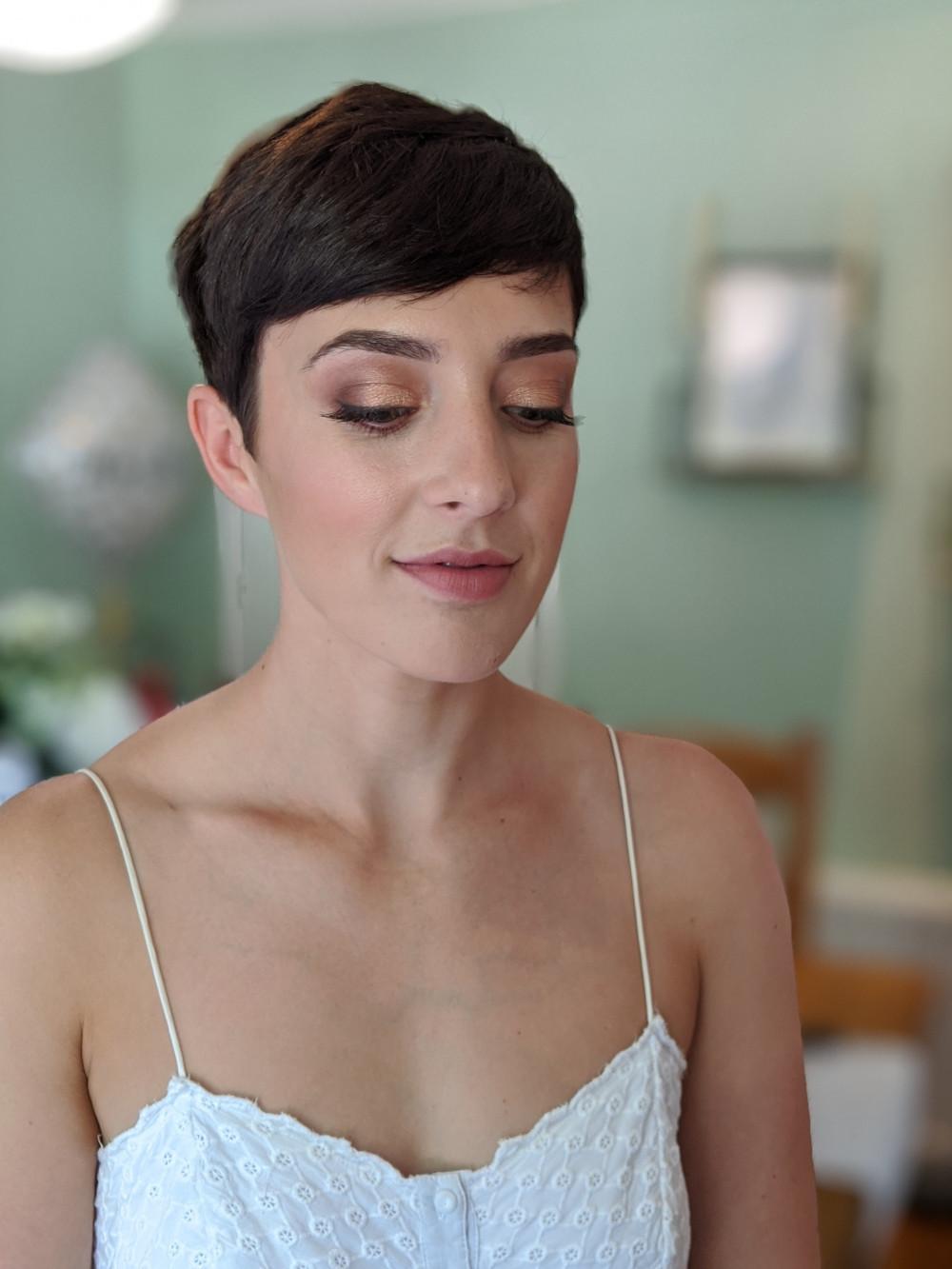 - Make Me Bridal Artist: Petal Blush. #naturalmakeup #flawlessmakeup #rosegold #classicmakeup