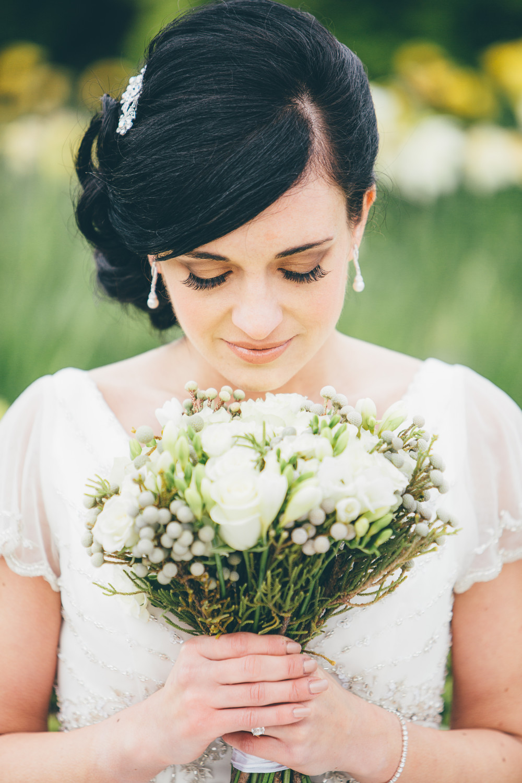 - Make Me Bridal Artist: Nicola Jane - Makeup Artist. Photography by: Paul Swift. #vintage #springwedding
