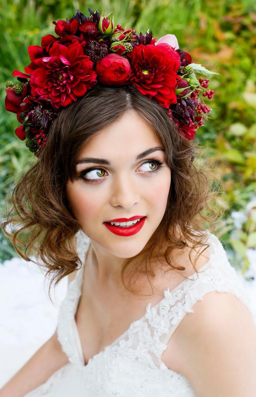 - Make Me Bridal Artist: Liz Tarrant Make Up. #flowercrown