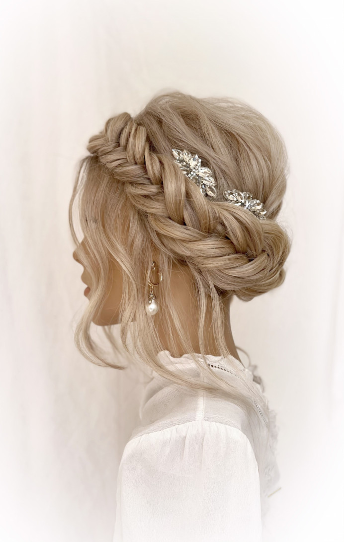 - Make Me Bridal Artist: Parisiumhair. #bridalhair #hairup #braid #braidedupdo #fishtailbraid #coolbride #bridesmaid #bridesmaidhair #bride #weddingweddinghairweddinginspobridebridehairveildevonwedding #bohemian #plaits #boh