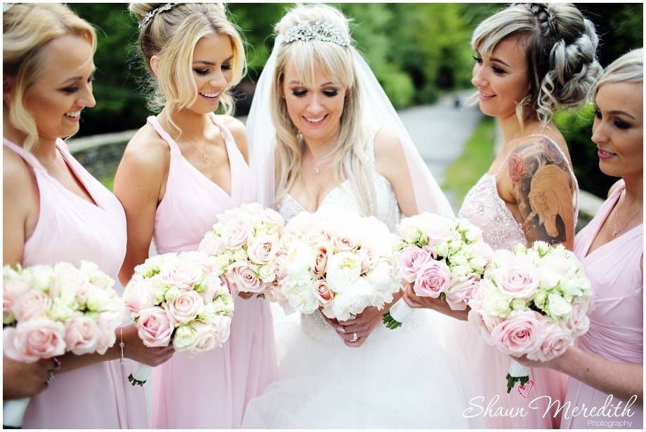Stacey and her bridesmaids - Make Me Bridal Artist: Make Up By Kirstie . Photography by: Shaun Meredith . #curls #blonde #bridalmakeup