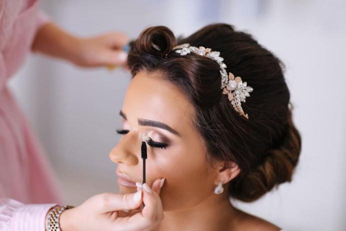 - Make Me Bridal Artist: Katie Malin Makeup Artist. #classic #bridesmaidhair #bridalmakeup