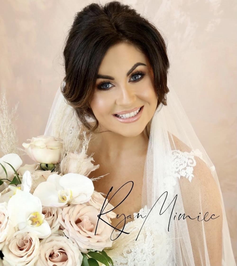 - Make Me Bridal Artist: Katie Malin Makeup Artist. Photography by: Ryan Mimec Photography. #glamorous #glambride