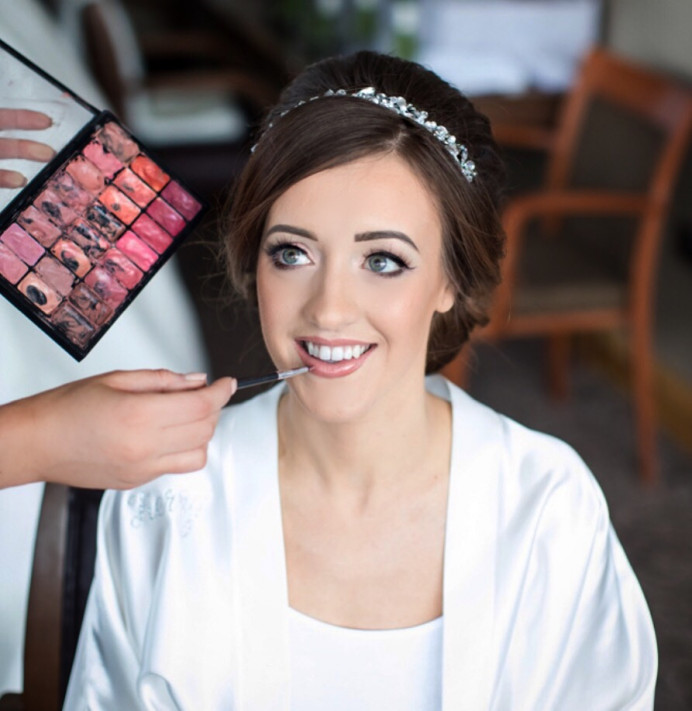 - Make Me Bridal Artist: Katie Malin Makeup Artist. #bridalmakeup #bridalhair #classicbride