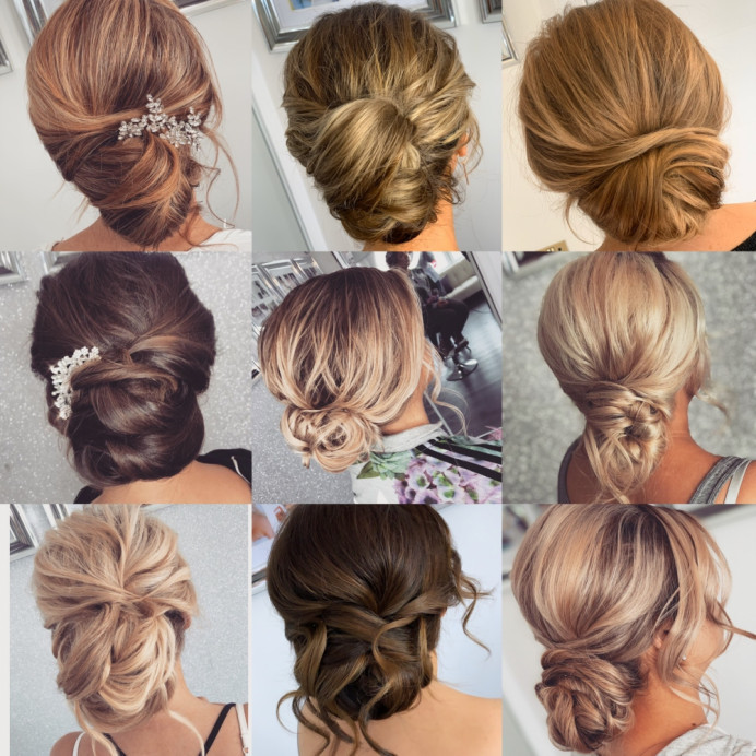 - Make Me Bridal Artist: Katie Malin Makeup Artist. #bridalhair #bridesmaidhair #bohowedding