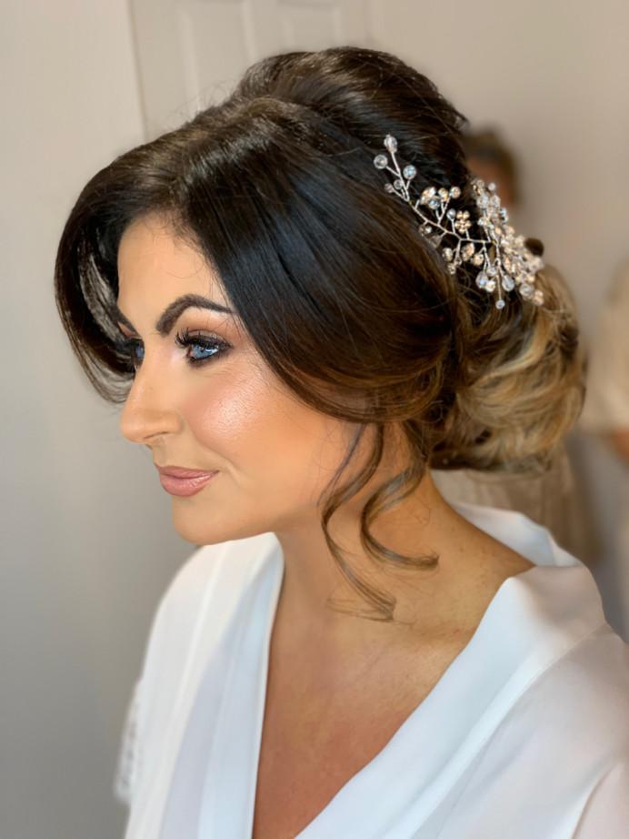 - Make Me Bridal Artist: Katie Malin Makeup Artist. #classic #glamorous #bridalmakeup #bridalhair