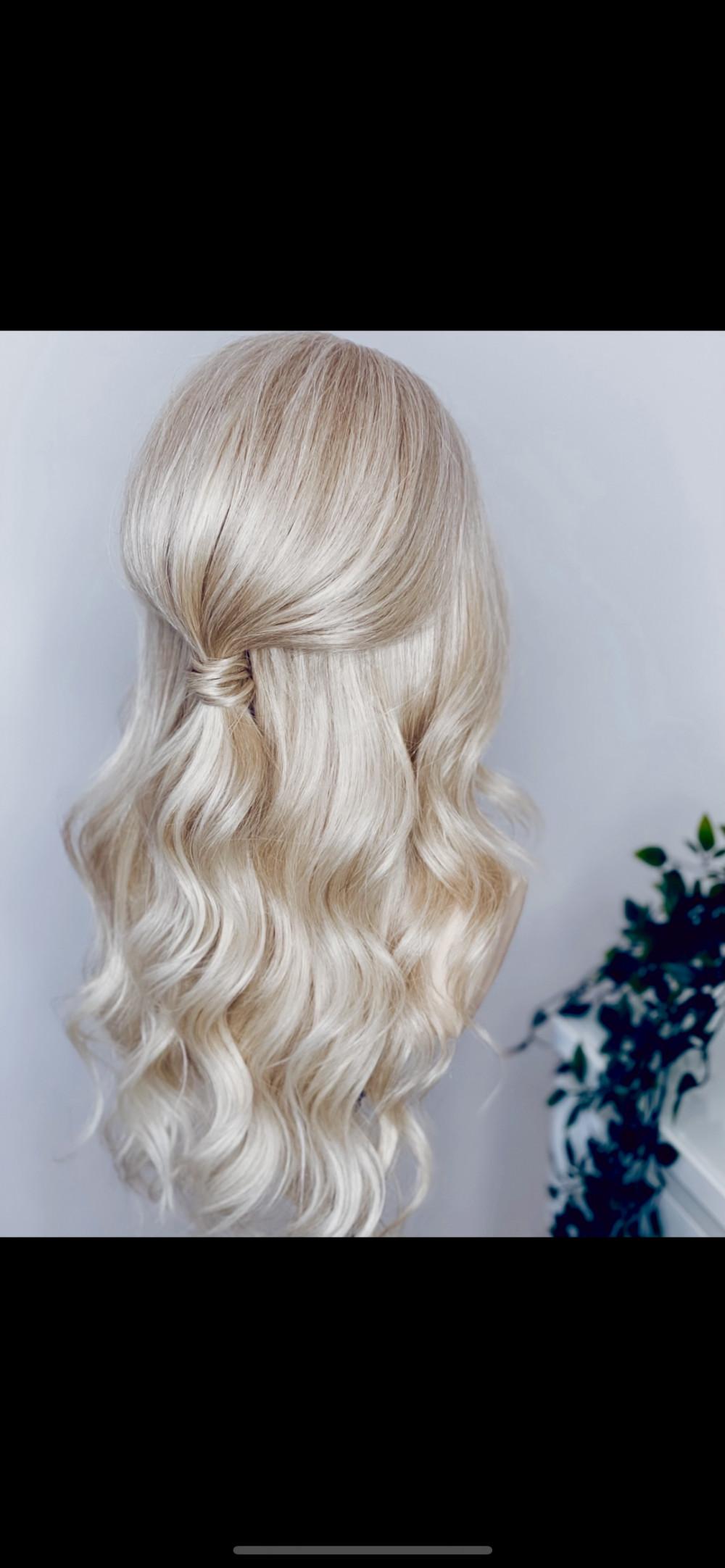 - Make Me Bridal Artist: Holly Louise London. #halfuphair #bridesmaidhair #halfuphalfdown