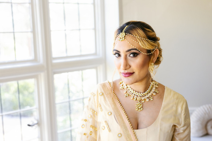 - Make Me Bridal Artist: Makeup by Sabina M. Photography by: Martin Beale. #glamorous #bridalmakeup #bride #weddingmakeup #indianbride #indianwedding