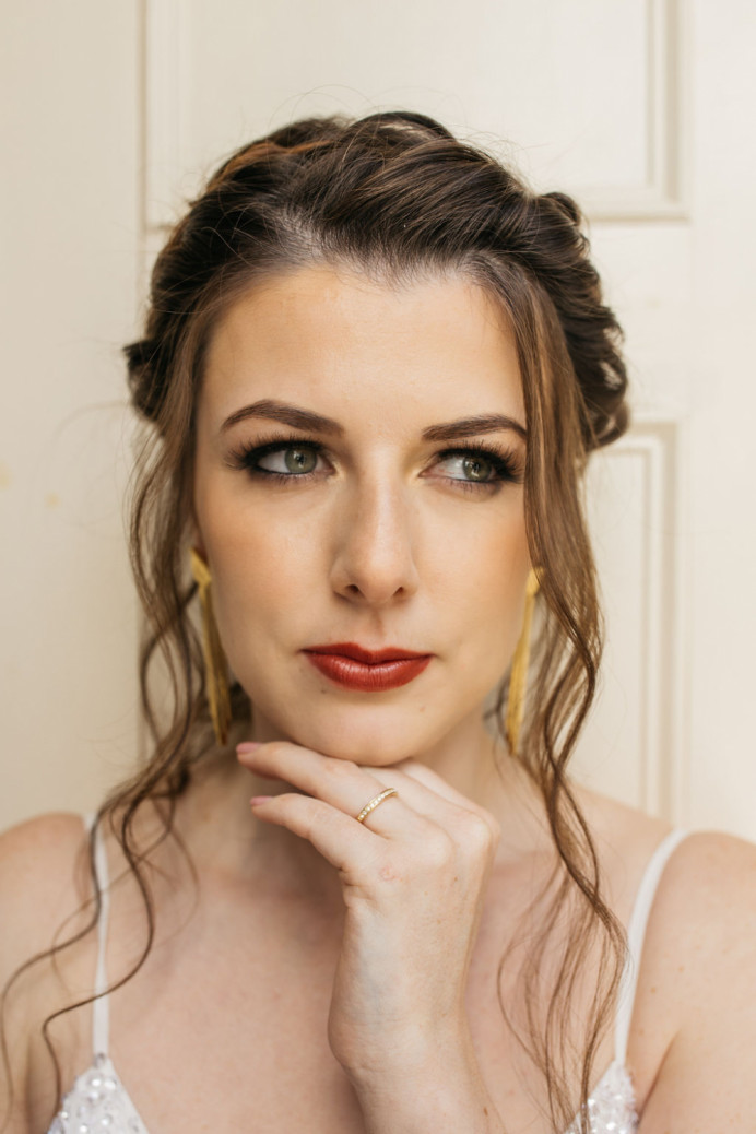 - Make Me Bridal Artist: Makeup by Sabina M. Photography by: Chloe Lee. #modernbride #bridal