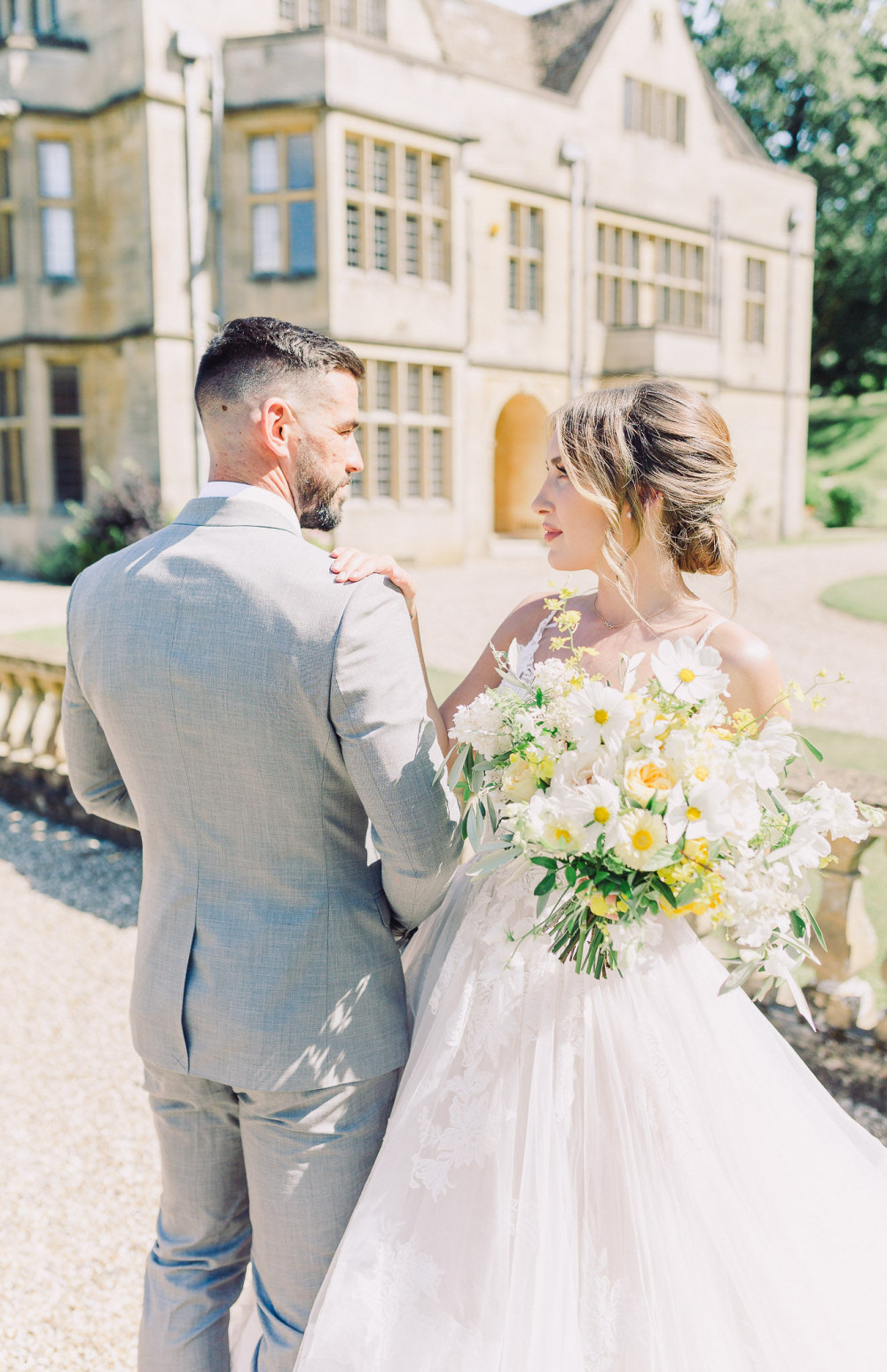 Beautiful bridal shoot at Coombe Lodge. - Make Me Bridal Artist: Loxus Hair and Make-up by Maya Jasinska HMUA. Photography by: Dominica ler. #classic #glamorous