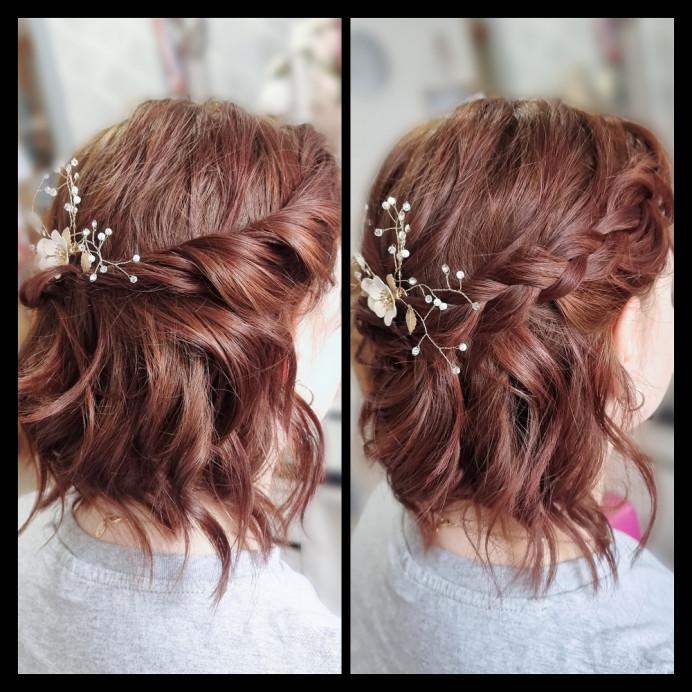 Bridal hair - Make Me Bridal Artist: Loxus Hair and Make-up by Maya Jasinska HMUA. #boho