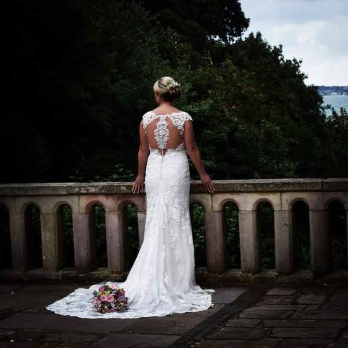 Low classic bridal bun - Make Me Bridal Artist: Hairbydanielle. #classic #bridalhair