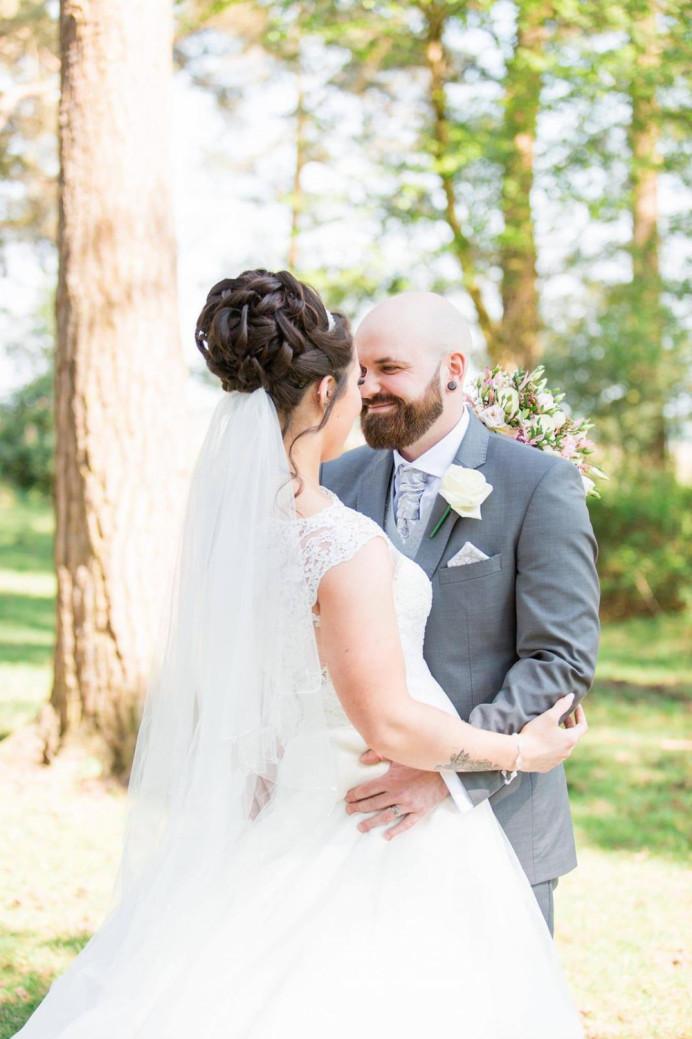 High bridal bun - Make Me Bridal Artist: Hairbydanielle. #highbun #bridalhair #bridalbun
