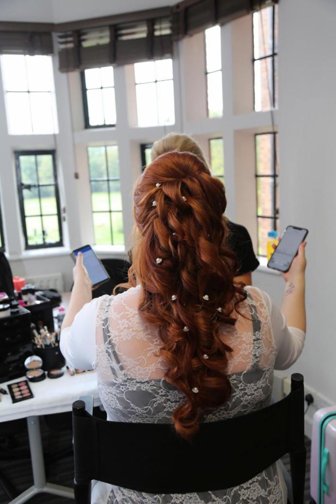 Bridal mermaid hair? - Make Me Bridal Artist: Hairbydanielle. #bridalhair