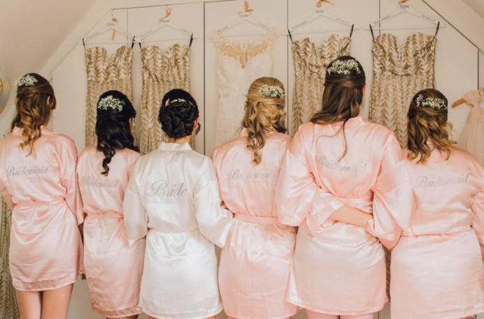 Bridal party hair up - Make Me Bridal Artist: Hairbydanielle. #bridalhair