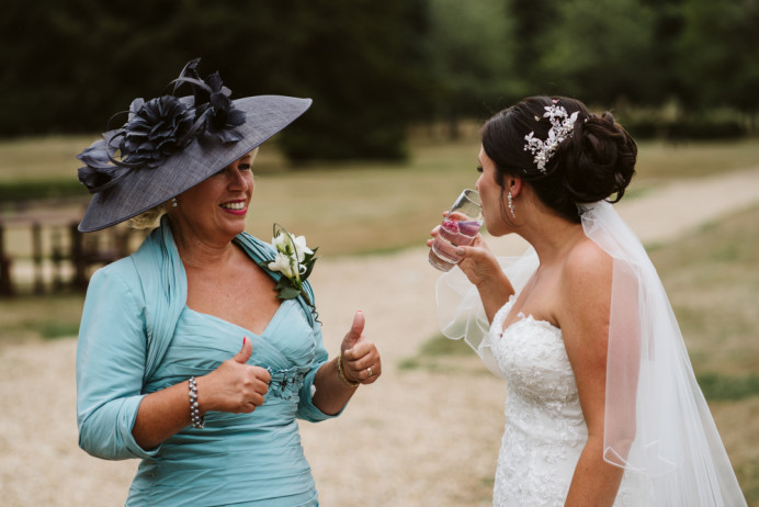 Bride & Mother of the Bride hair by me - Make Me Bridal Artist: Hairbydanielle. #hairup