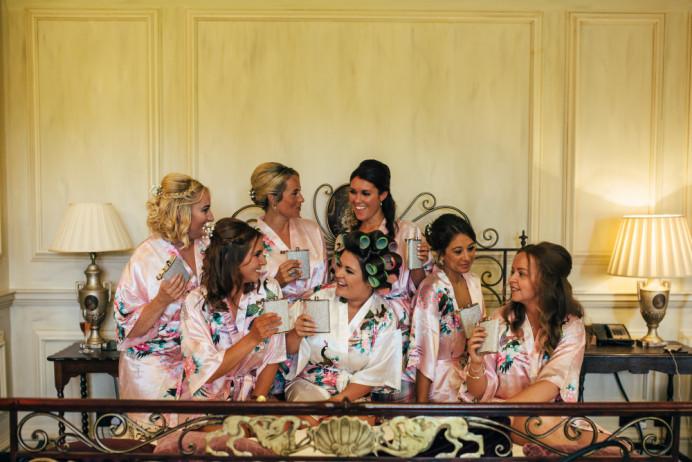 Bridal Party - Hair by me - Make Me Bridal Artist: Hairbydanielle. #bridesmaidhair