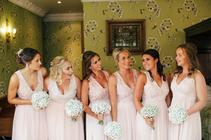 Bridesmaids hair by me - Make Me Bridal Artist: Hairbydanielle. #bridesmaidshair