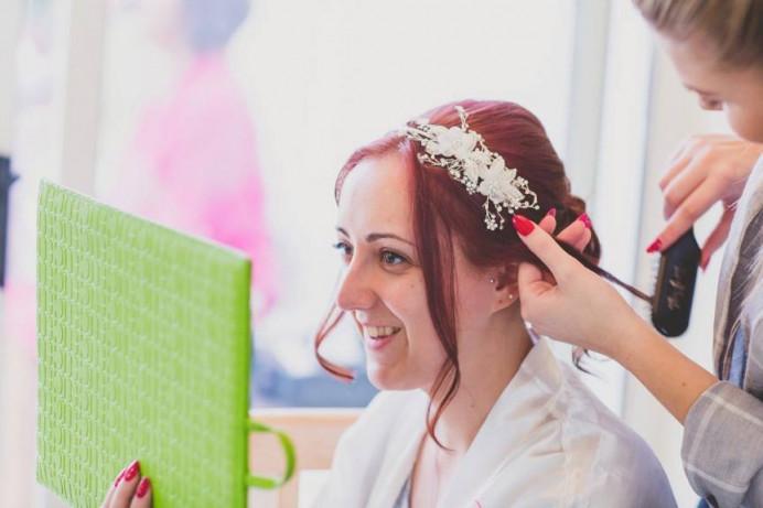 - Make Me Bridal Artist: Hairbydanielle. #bridalhair