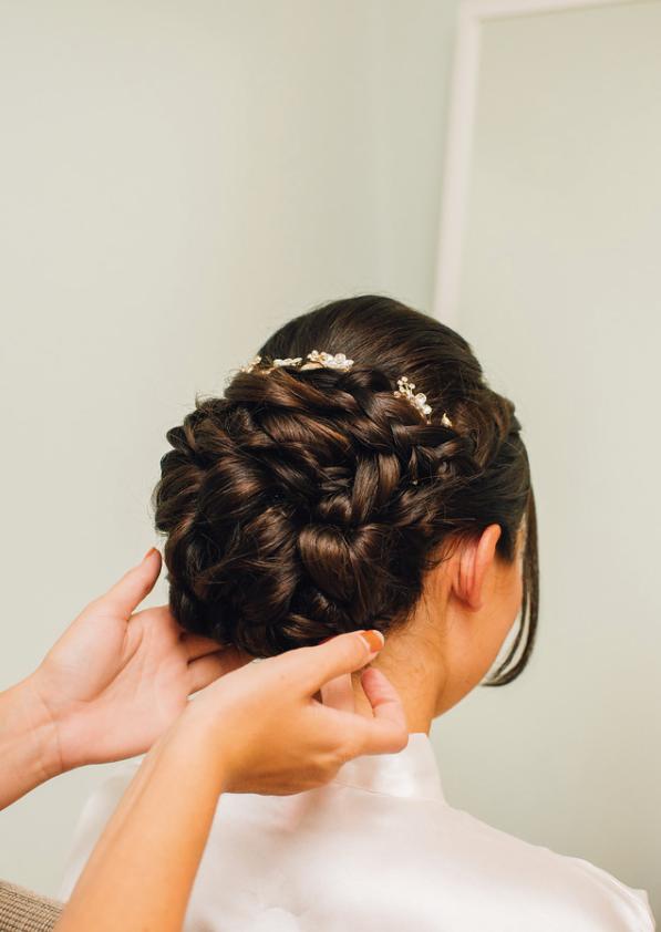 - Make Me Bridal Artist: Hairbydanielle. #bridalbun