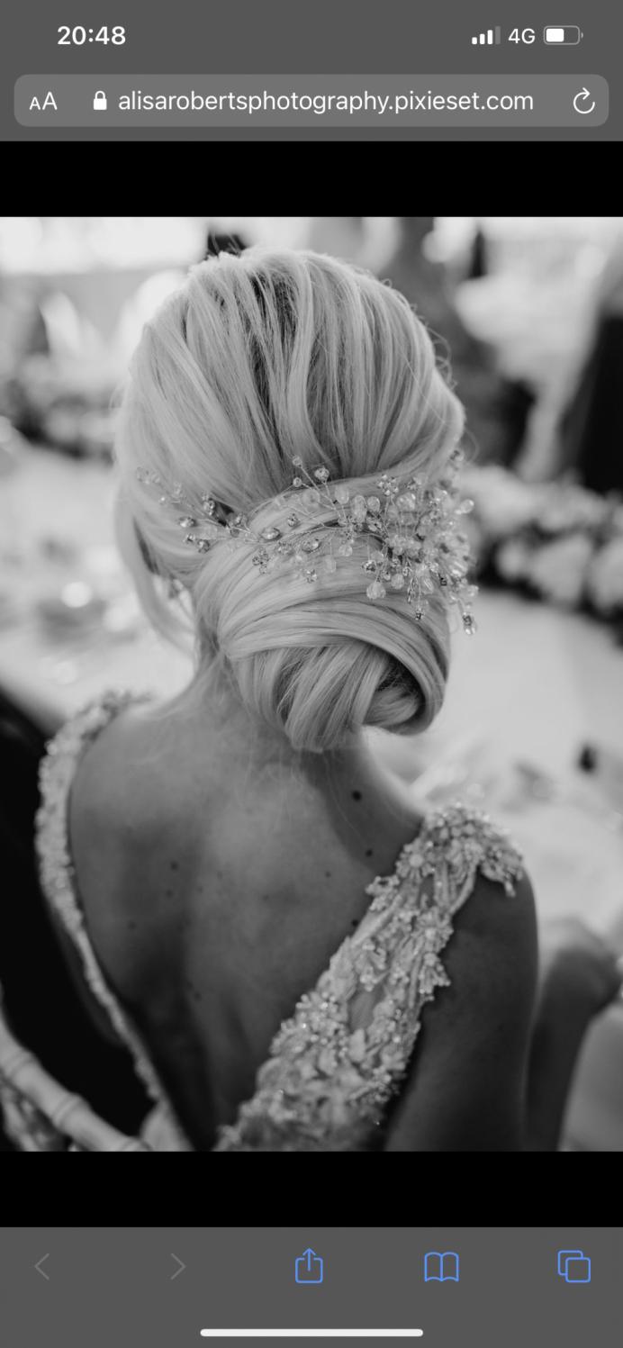 - Make Me Bridal Artist: Hairbydanielle. #lowbun