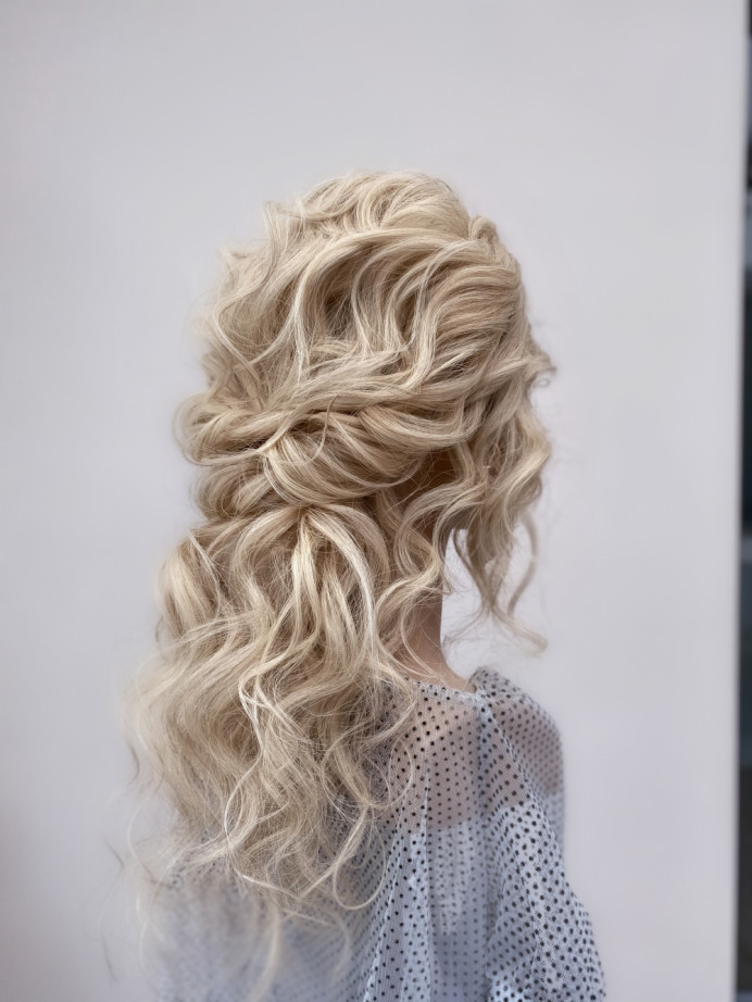 - Make Me Bridal Artist: Bridal hair by Michelle Jewess. Photography by: Michelle. #boho